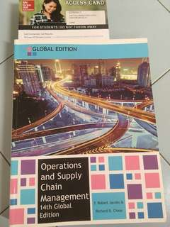 Operations and supply chain mgmt