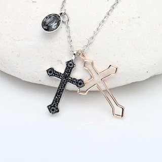 Swarovski 施華洛世奇 十字架項鏈