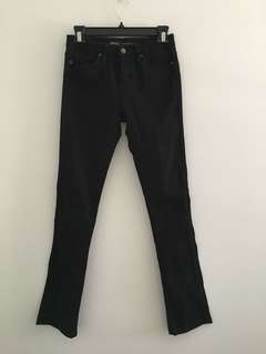 Lee Riders Black high-rise Jeans sz 7