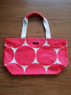 Authentic Kate Spade Canvass Tote