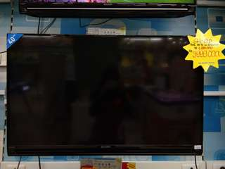 "Kredit led tv sharp 40"". Promo free 1x angsuran"