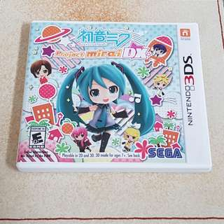 3DS Project Mirai DX