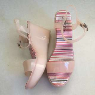 CMG Jelly Edition Wedge Sandals