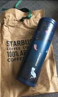 2017 Starbucks Korea Autumn Woodland Troy Tumbler