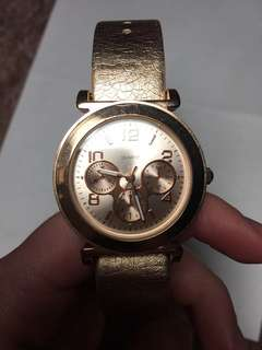 *Rose Gold Watch