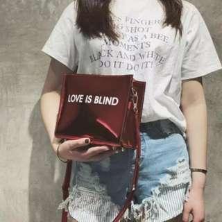 Preorder!!! Fashion sling bag square bag