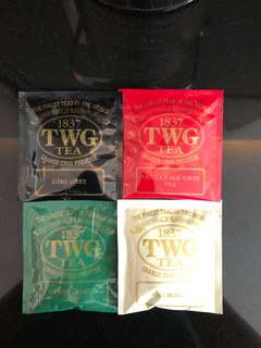 TWG tea bag 茶包