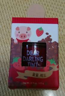 Etude House Dear Darling Tint RD308 With Freebies