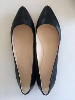 Nine West Speakup Black corporate flats 8.5