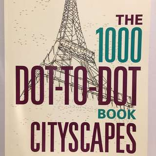 Dot to Dot Cities Book A3