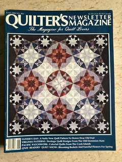 Patchwork & quilting magazine