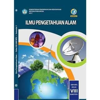 Buku Siswa Ipa kelas 8 Smp semester 1 kurikulum 2013 revisi 2017