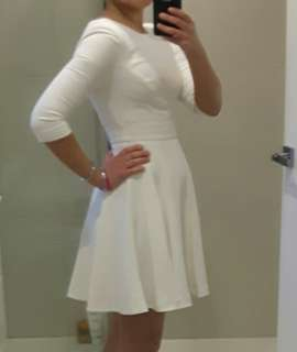 Portmans white dress size 6