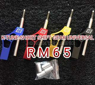 K TUNE SHORT SHIFT GEAR UNIVERSAL