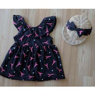Eiffel in Love Dress + Headband