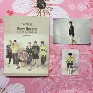 VIXX BOYS RECORD KEN HYUK