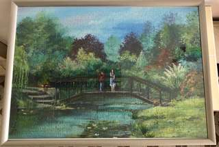 Jigsaw puzzle (1000 pieces) - with frame