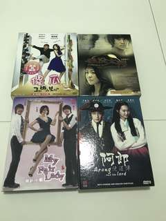 Korean Drama DVDs(Incl Postage)