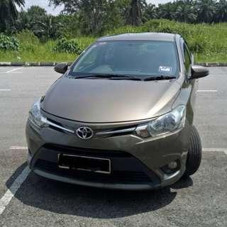 TOYOTA VIOS 1.5CC E SPEC 2015 SAMBUNG BAYAR