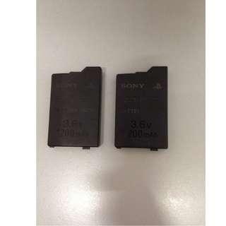 WTS PSP2000 & 3000 battery (2x)