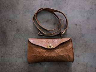 Stradivarius leather bag