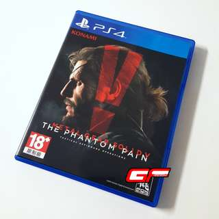 PS4 METAL GEAR SOLID THE PHANTOM PAIN