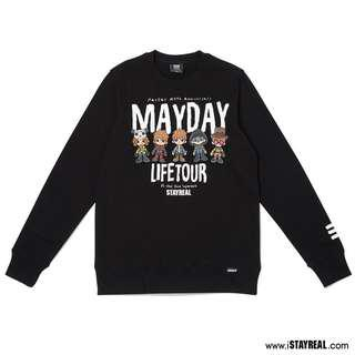 Mayday Stay Real 第五分隊厚棉T