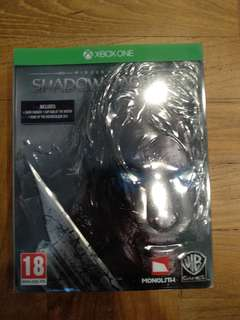 Middle Earth Shadow of Mordor Limited edition