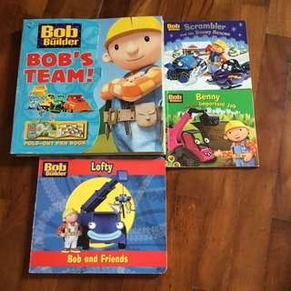 🚚 Bob the builder- bundle of 4 books