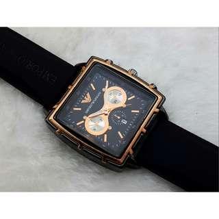 Emporio Armani Automatic Date Men Rale style x Fashion Sport Quartz waterproof Watches