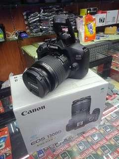 Canon 1300D bisa di cicil
