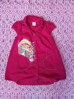 Dress pink magenta Little M
