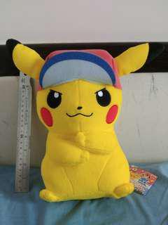 日本直送 絕對正版 比卡超 pikachu 公仔 pokemon sun & moon banpresto