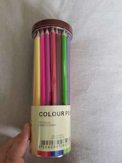 Color pencil sets (48 colors)