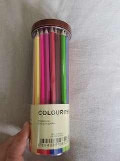 Color pencil sets (48 colors)