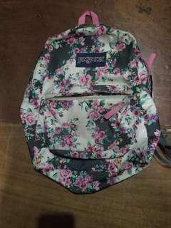 Authentic Jansport Superbreak Bag (Floral)