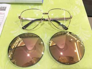 Mirror lens with power! 9 color to choose!