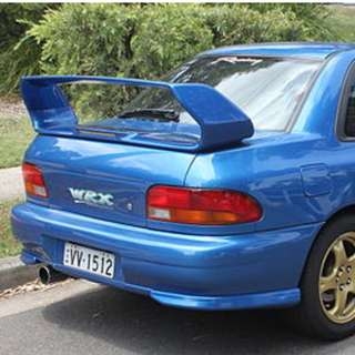 Subaru Impreza Version 5 Rear boot spoiler