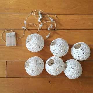 Typo Lantern String Lights