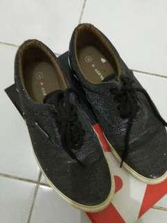 Sepatu Sneakers Airwalk Black Original 100%