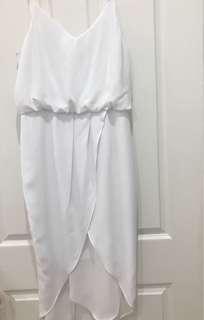 COOPER ST White Midi Dress