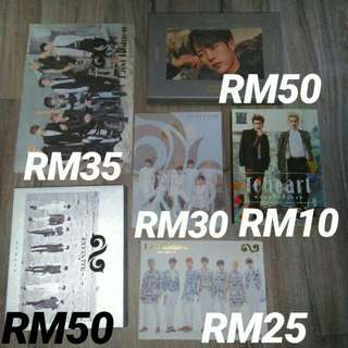 [CLEARANCE] INFINITE ALBUM