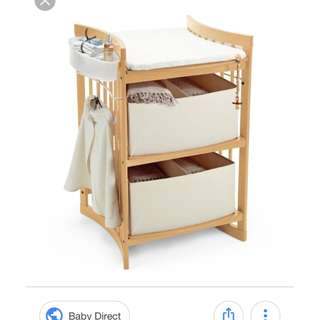 Stokke Care changing table - natural