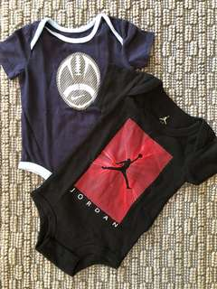 Nike Jordan Onesies (Bundle)