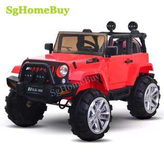 In-stock - Kids Electric Car- Red Jeep