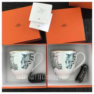 💕稅後再折💕 實物超靚 Brand New Hermes Porcelain Mugs