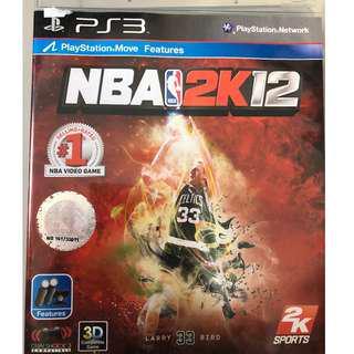 PS3 NBA2K12