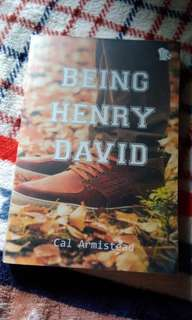 Preloved Novel Being Henry David by Cal Armistead