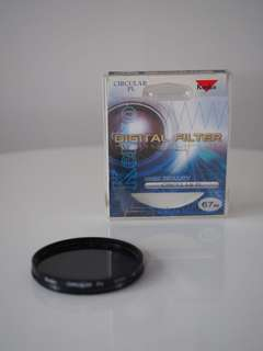 Circular polarizing filter 67mm Kenko