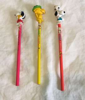 Snoopy woodstock 鉛筆(絶版)